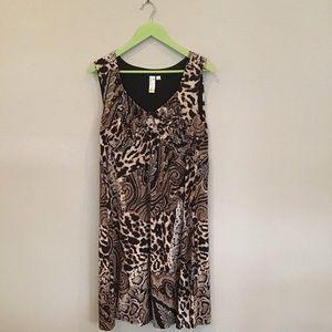 Emma & Michele Leopard Animal print dress 18W